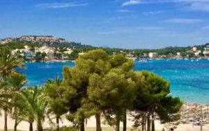 1 bedroom sea views apartment for rent Santa Ponsa