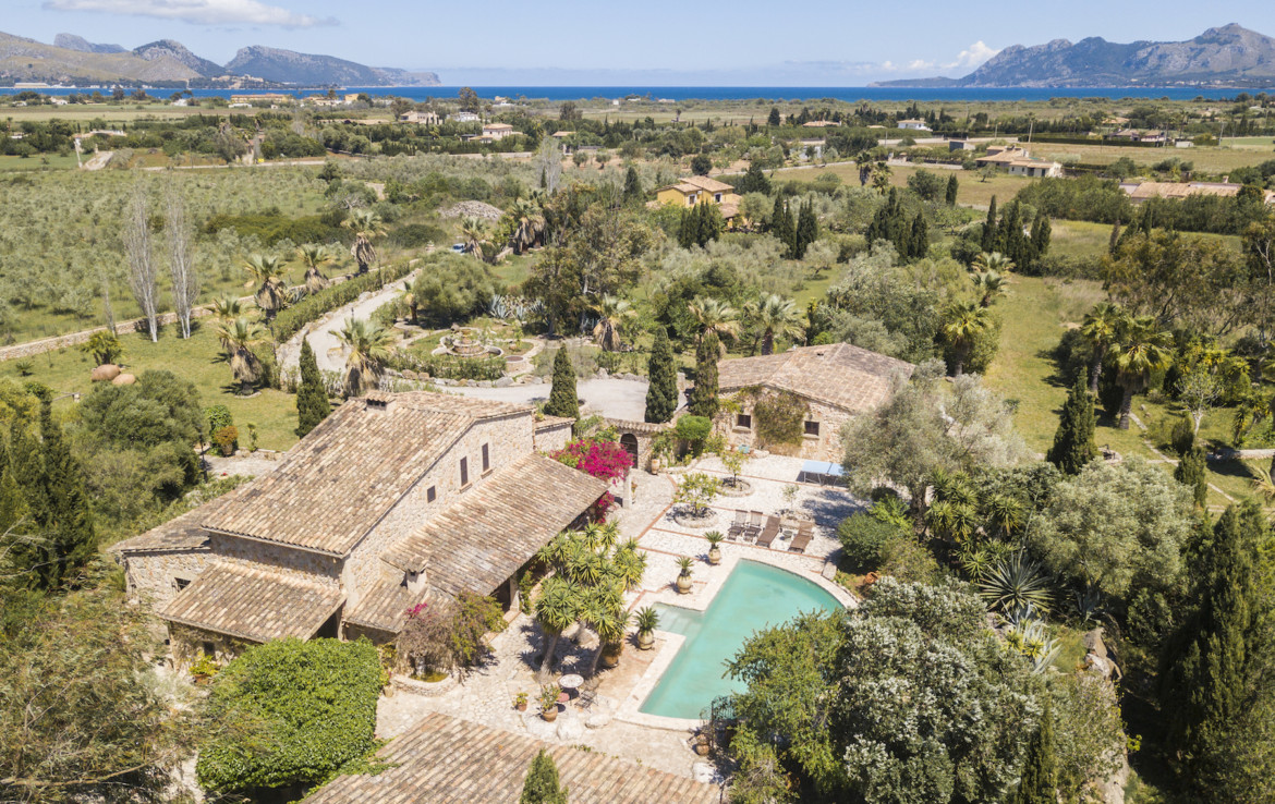 finca for sale in Mallorca Pollenca