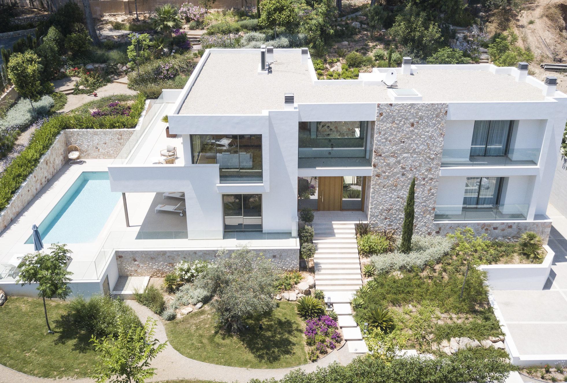 Luxury modern villa in Son Vida Palma de Mallorca