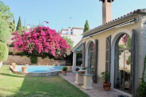 Palma villa with pool