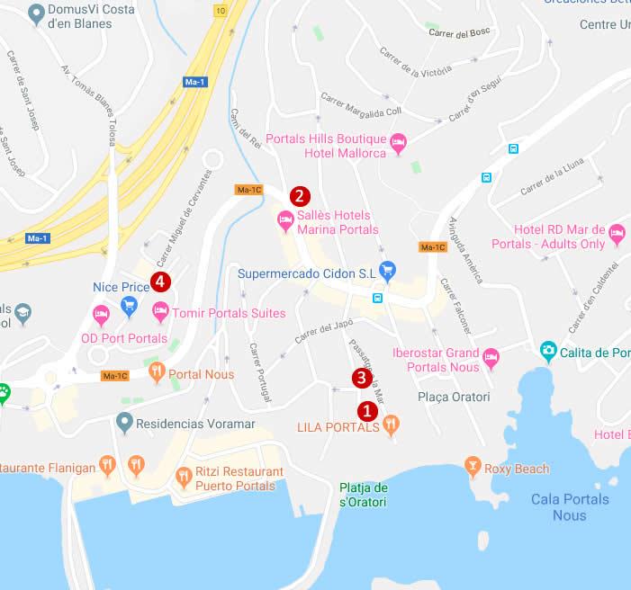 Long term rentals Portals Mallorca