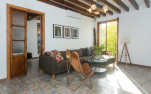Santa Catalina Palma apartment with private terrace