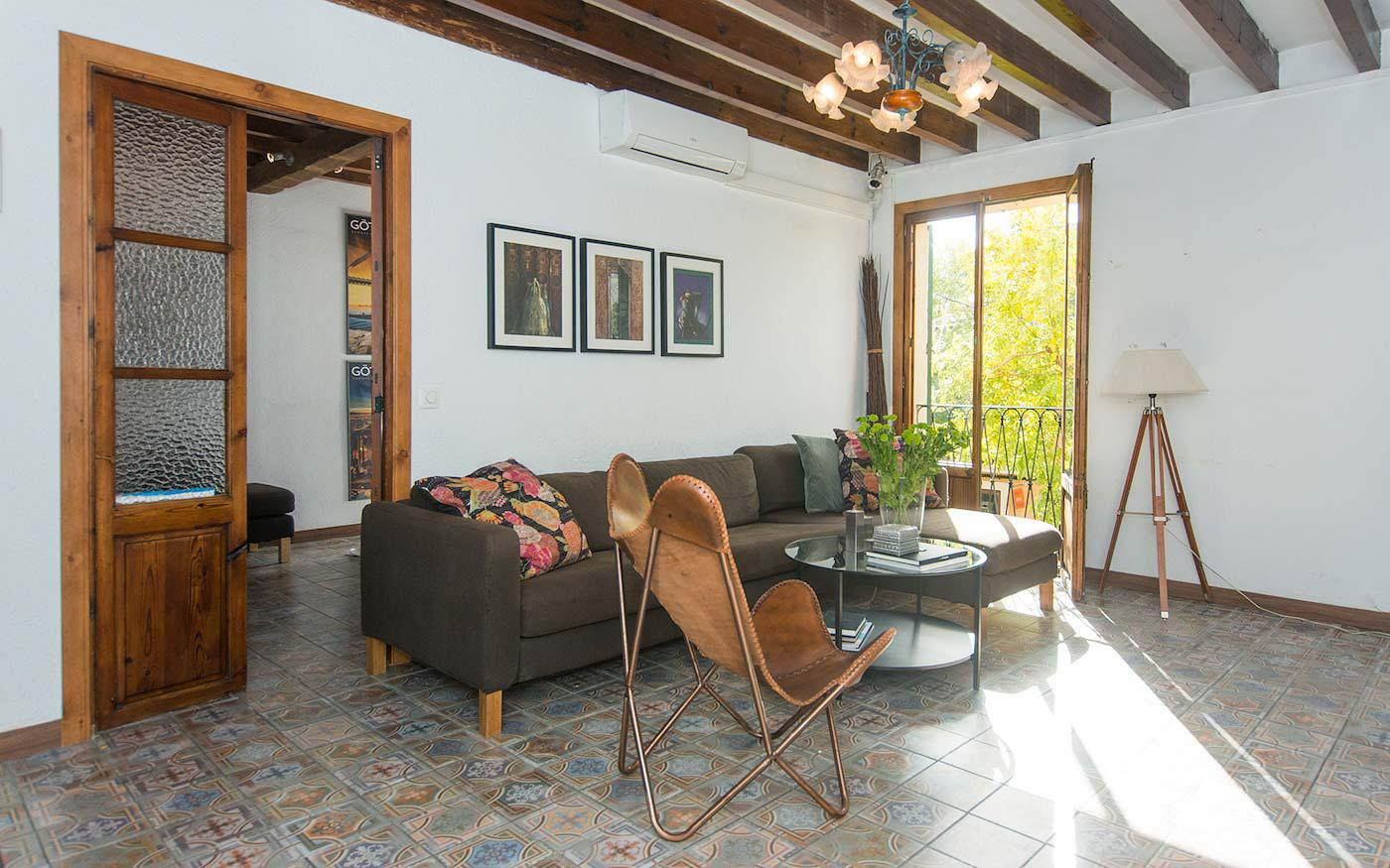 Santa Catalina Palma apartment with private terrace