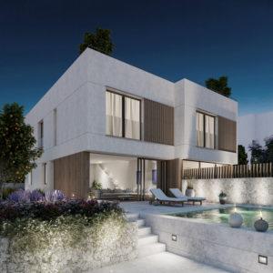 Semidetached new modern house close to Palma
