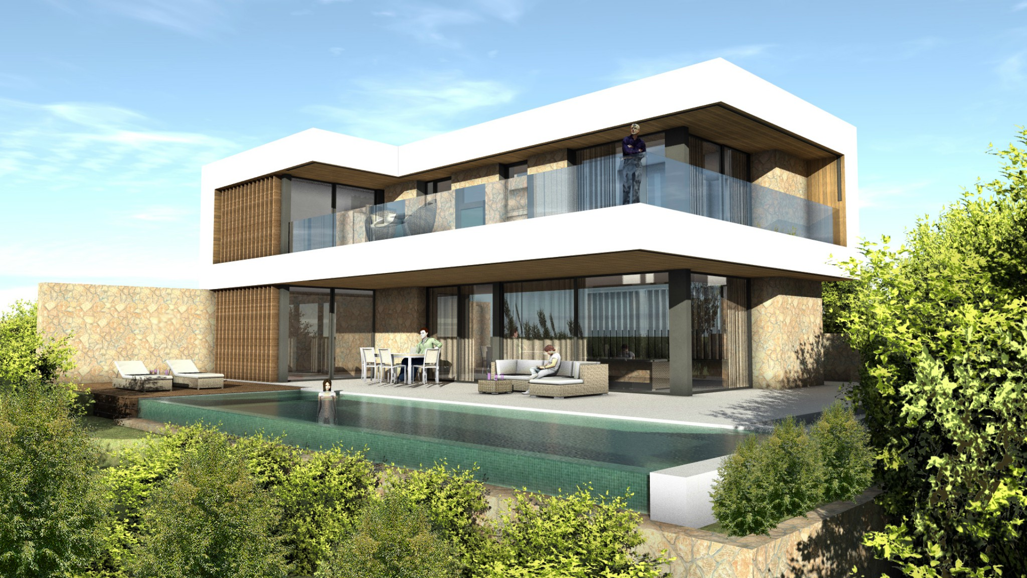 Cala Vinyes – Exclusive new contemporary style villa