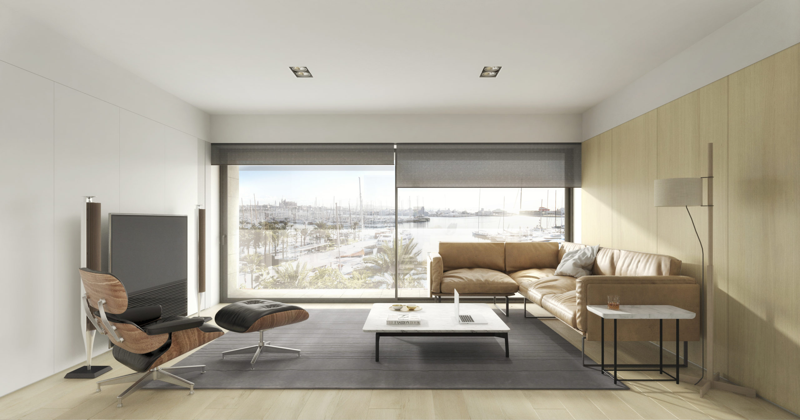 Frontline New Luxury apartments in Palma with spectacular sea views