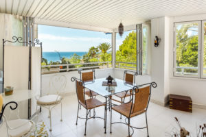 Illetas Beach 2 bedrooms sea views apartment with large terrace