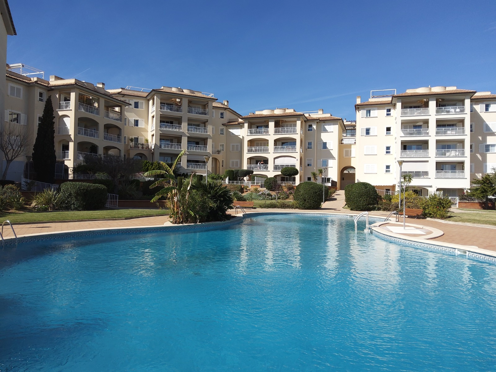 Exclusive apartment close to Son Vida golf course, pool, tennis cort