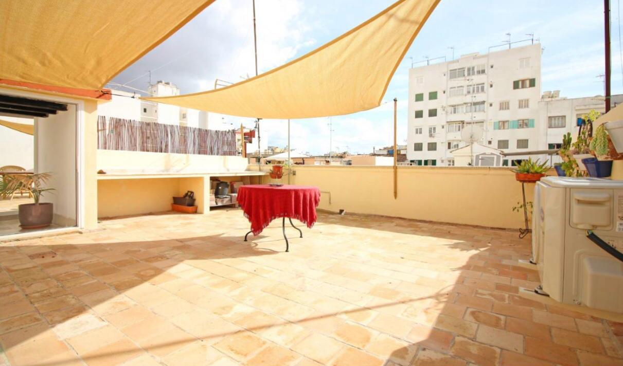 Palma: opportunity - renovated penthouse with large terrace - Santa Catalina area