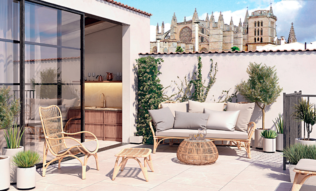 New Luxury apartments and penthouses in the heart of Palma Old Town