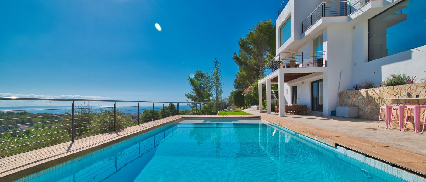 Costa D'en Blanes: Luxury modern villa with stunning sea views