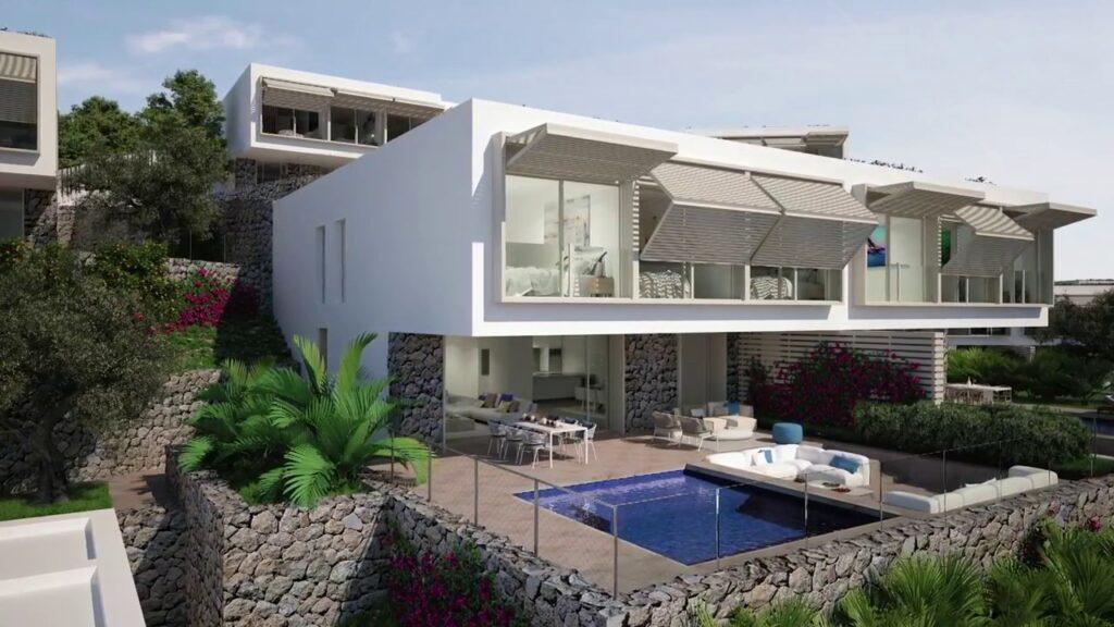 New Luxury residences in Port d'Andratx