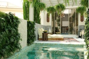Palma: Private cozy family house in Santa Catalina with parking and pool