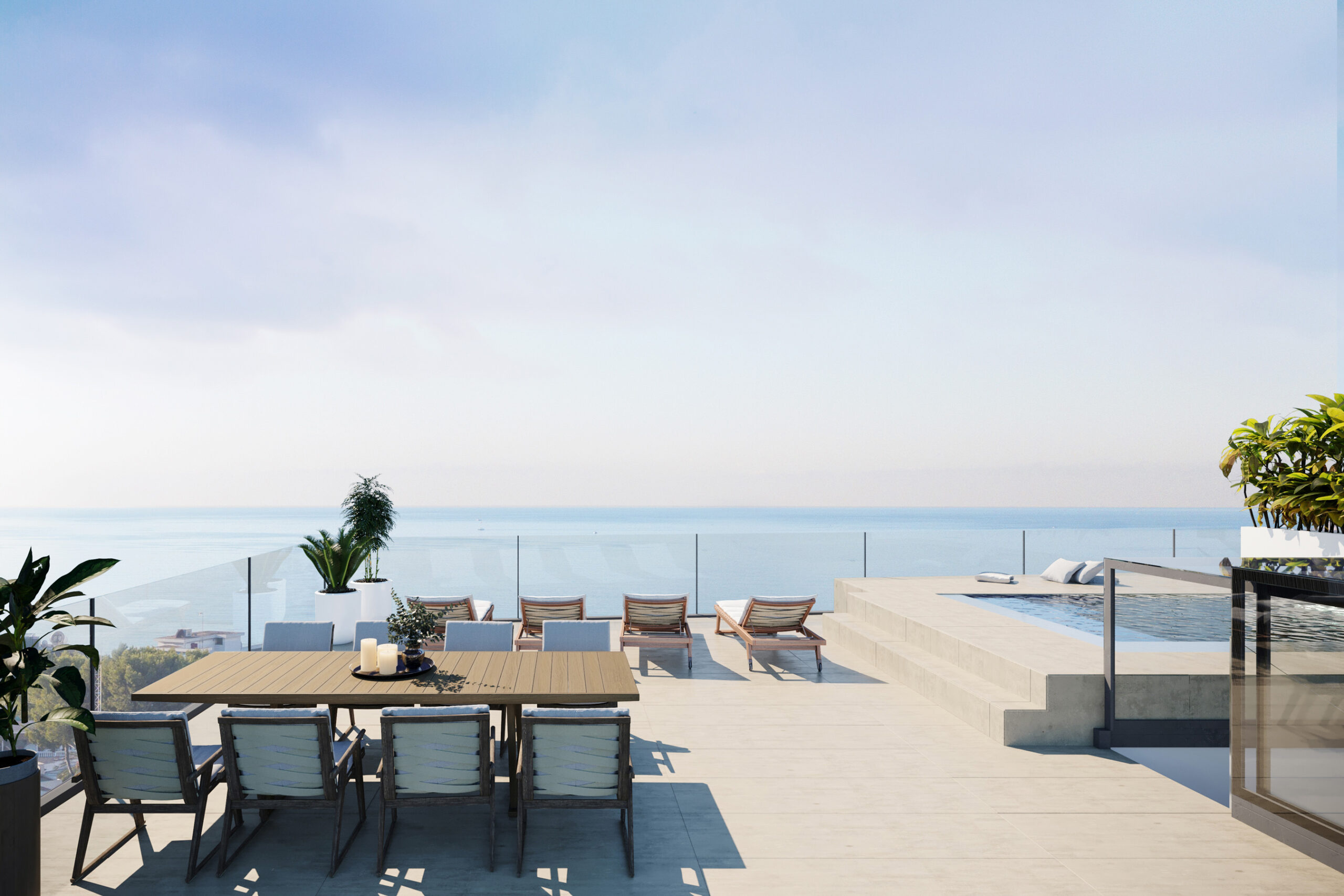 Unique Luxury Apartments and Penthouses in Cala Major