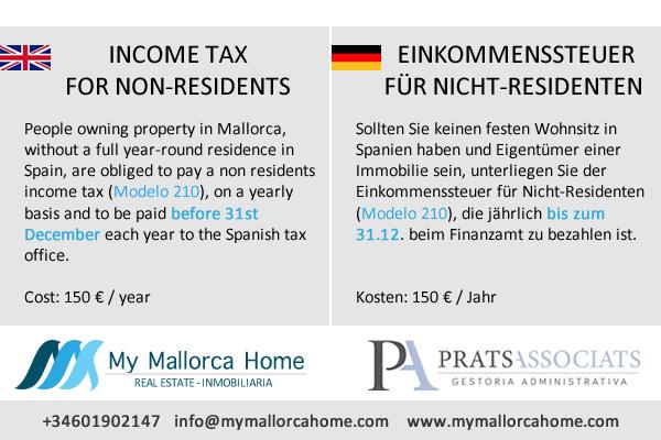 INCOME TAX FOR NON-RESIDENTS / EINKOMMENSSTEUER FÜR NICHT-RESIDENTEN