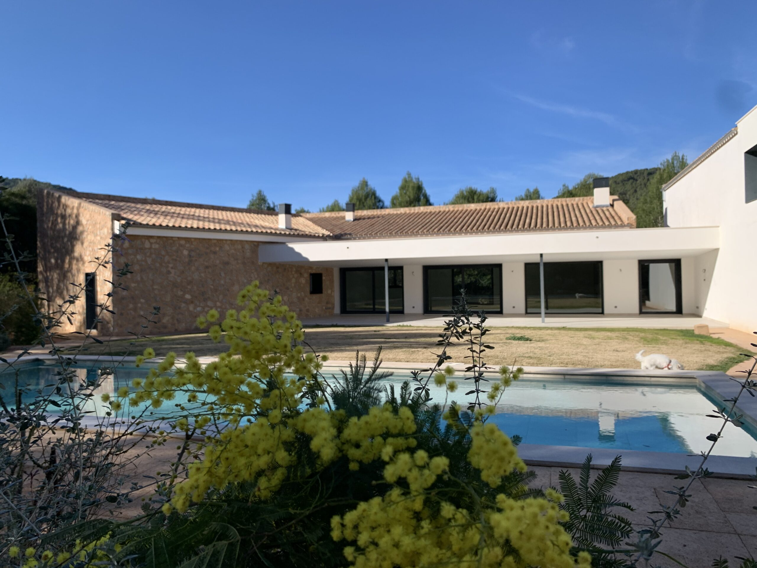 New designers Finca in Tramuntana close to Palma