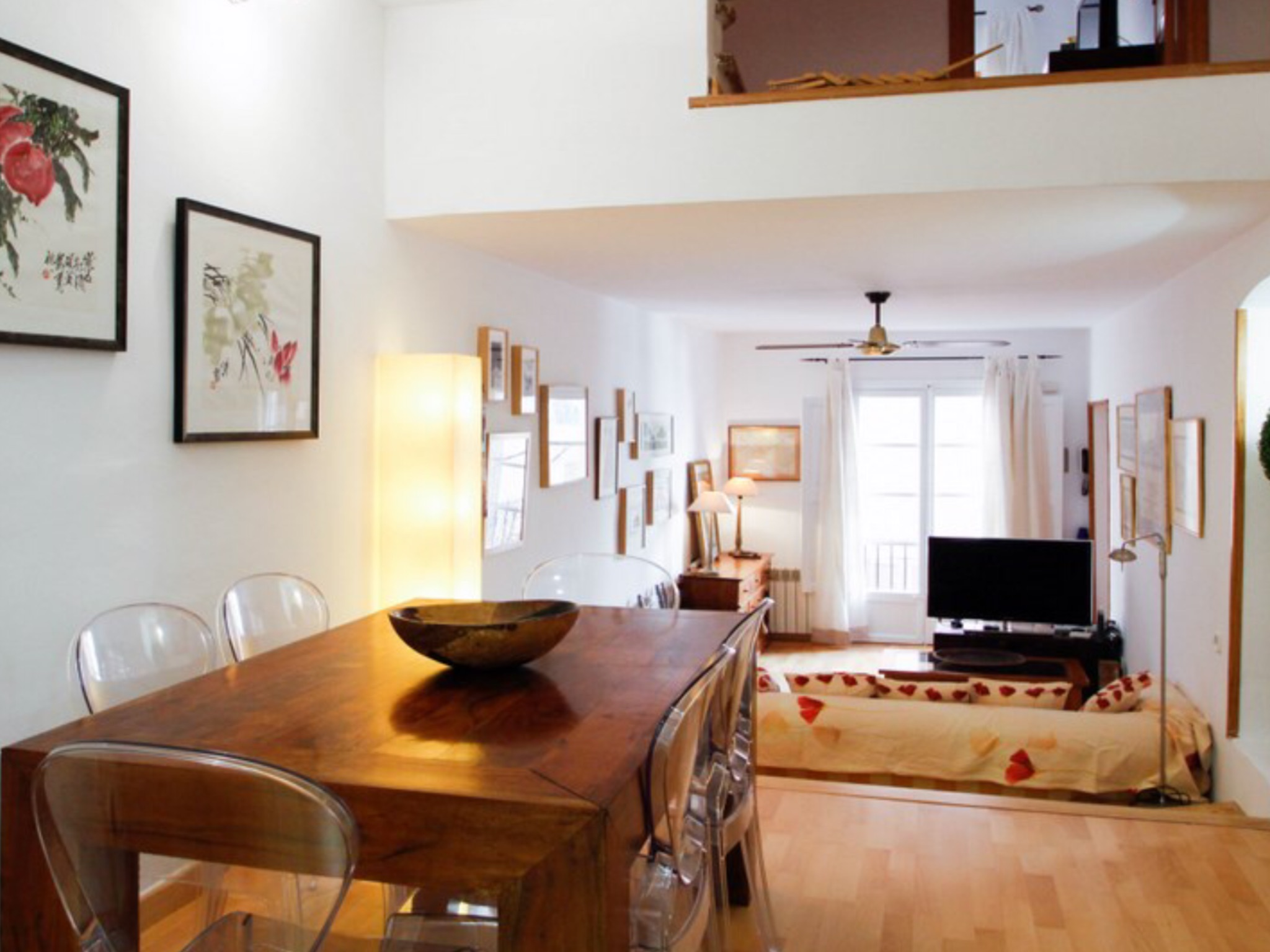 Furnished 2/3 bedrooms apartment for rent in the Historic Center of Palma – Calatrava