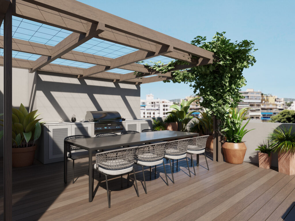 Palma: renovated Penthouse with large terrace